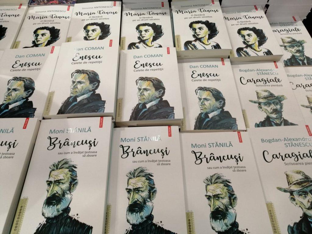 Colecţia Biografii romanţate, Polirom, foto Cultura la dubă