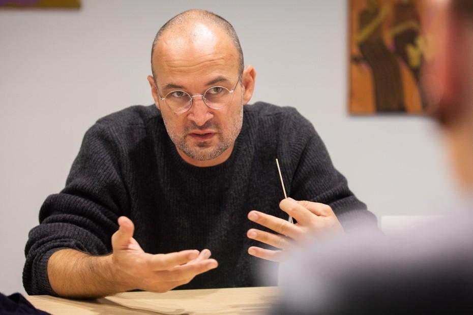 Alexander Nanau, regizor foto: Bogdan Iordache