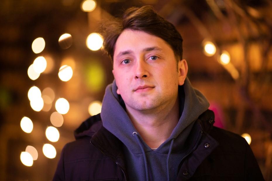 Radu Ciorniciuc, jurnalist și regizor foto: Bogdan Iordache
