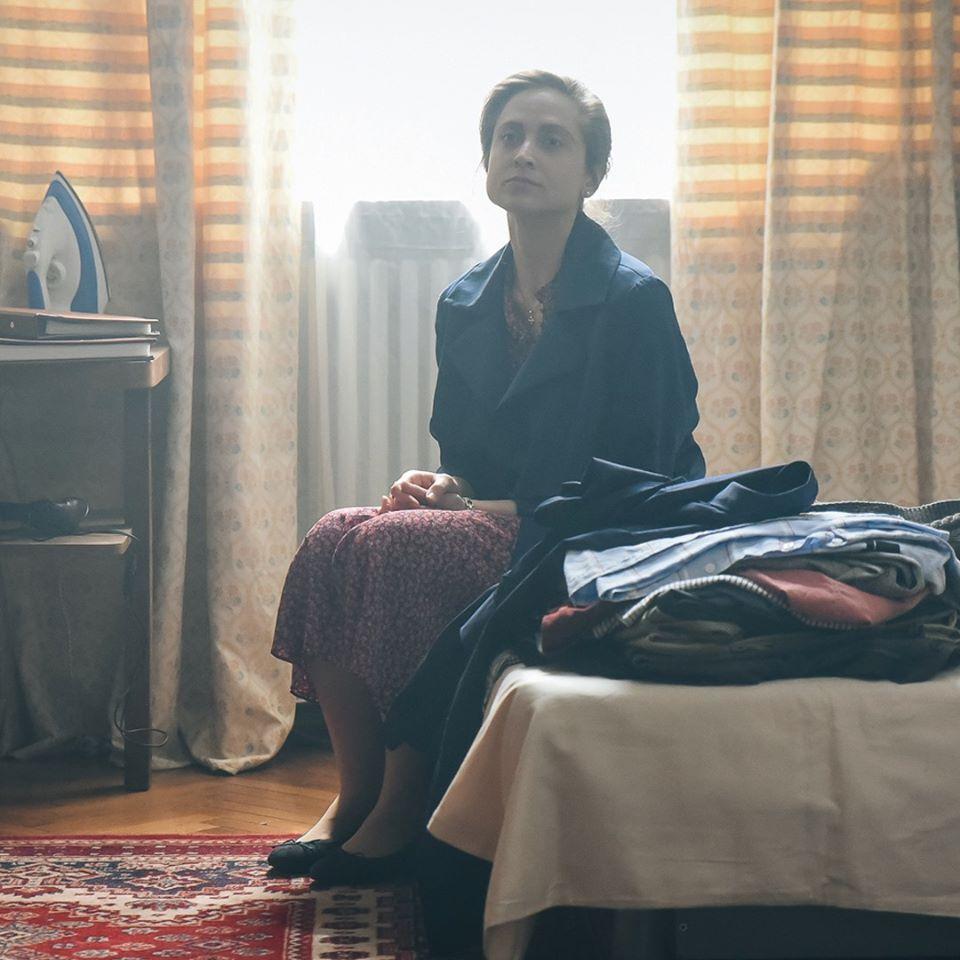 Irina Rădulescu în rolul Anei, din filmul Urma foto: Alex Damian/ Urma Facebook