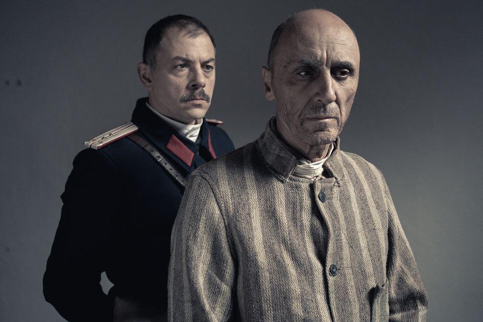 Ioan Andrei Ionescu și Radu Botar în filmul Cardinalul