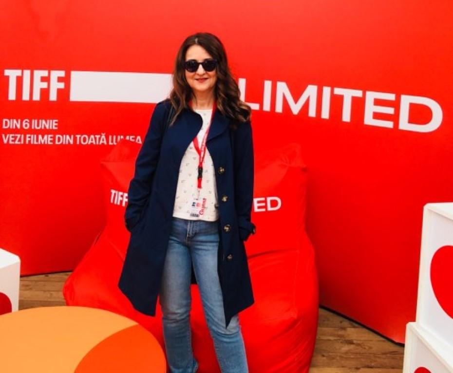 Natalia Călin la TIFF foto: arhiva personală