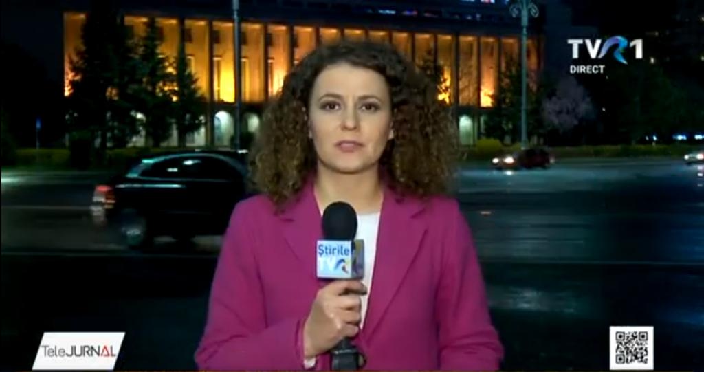 Diana Dumitrașu în direct la TVR