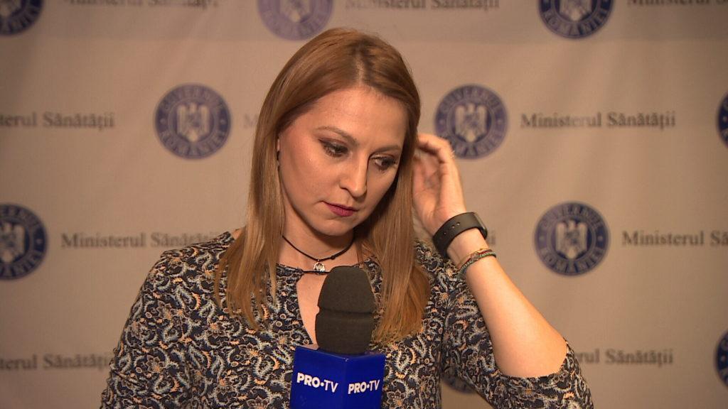 Liliana Curea la Ministerul Sănătății