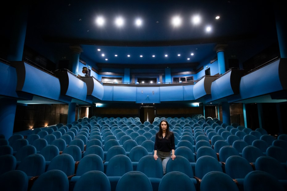 Catinca Maria Nistor, director interimar al Teatrului Bulandra foto: Bogdan Iordache/ PhotoCube