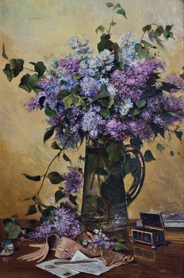 Liliacul, 1883, Theodor Aman foto: Muzeul Theodor Aman/facebook
