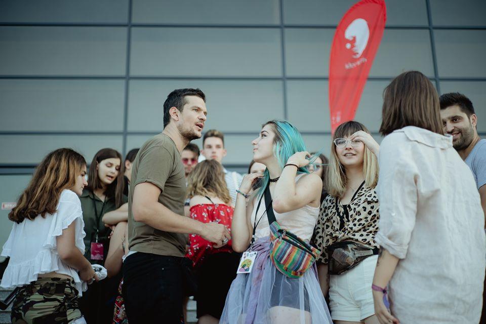 Tudor Chirilă printre adolescenți la Ideo Ideis 2019