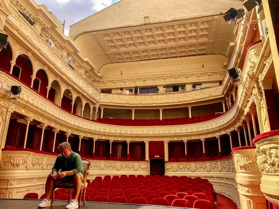 Pavel Bartoș la Teatrul Odeon