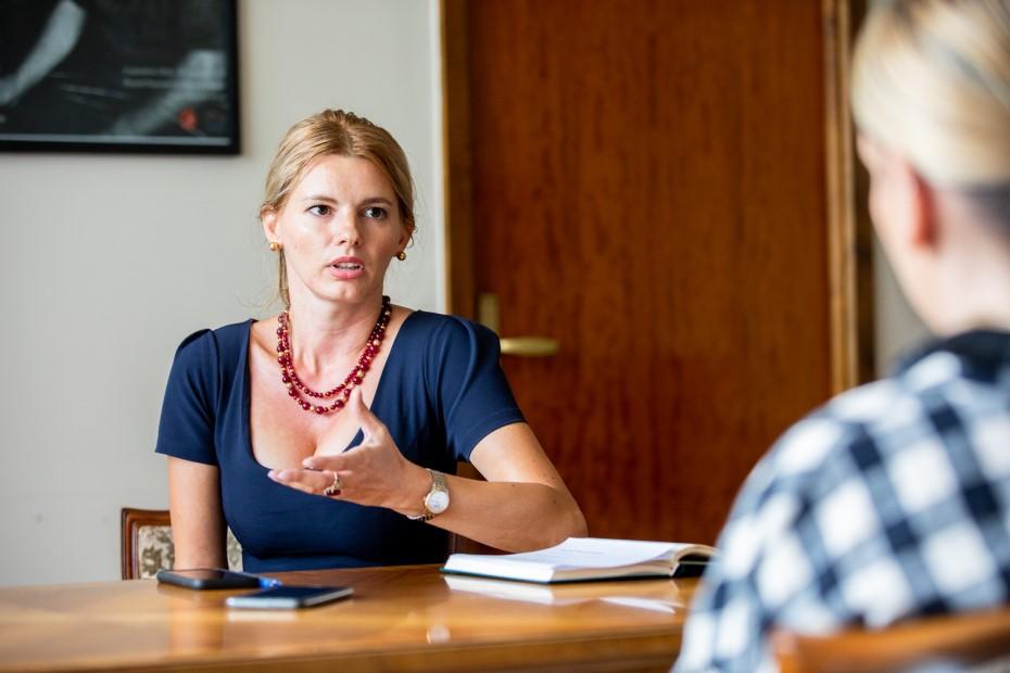 Cristina Verona, manager interimar al MNAR foto: Bogdan Iordache/PhotoCube