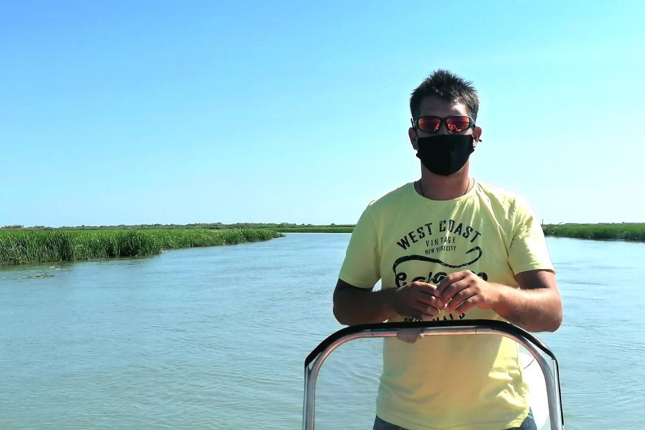 Mirel la o plimbare cu barca/ foto: Cultura la dubă