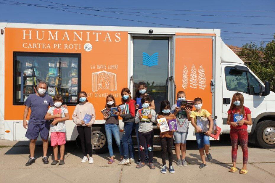 Cartea pe roți Humanitas