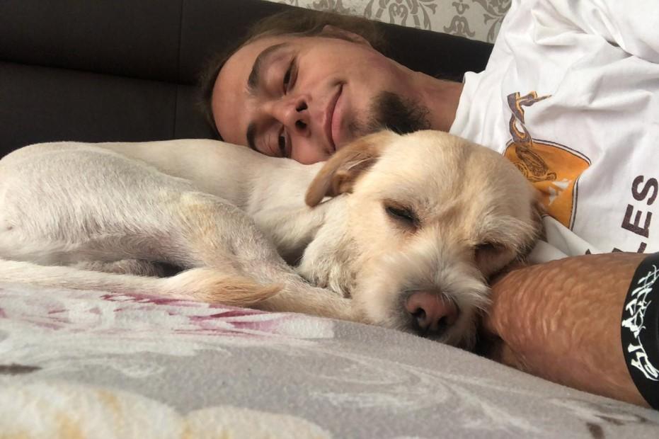 Pavlos și câinele lui, Anders-Kennedy/ foto: arhiva personală