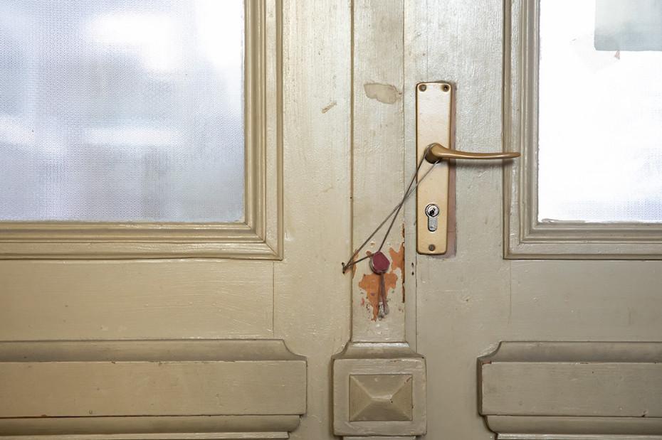 Una dintre camerele sigilate ale MNIR/ foto: Bogdan Iordache/ PhotoCube