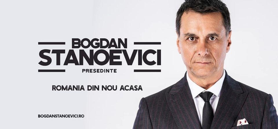 Afiș electoral Bogdan Stanoevici