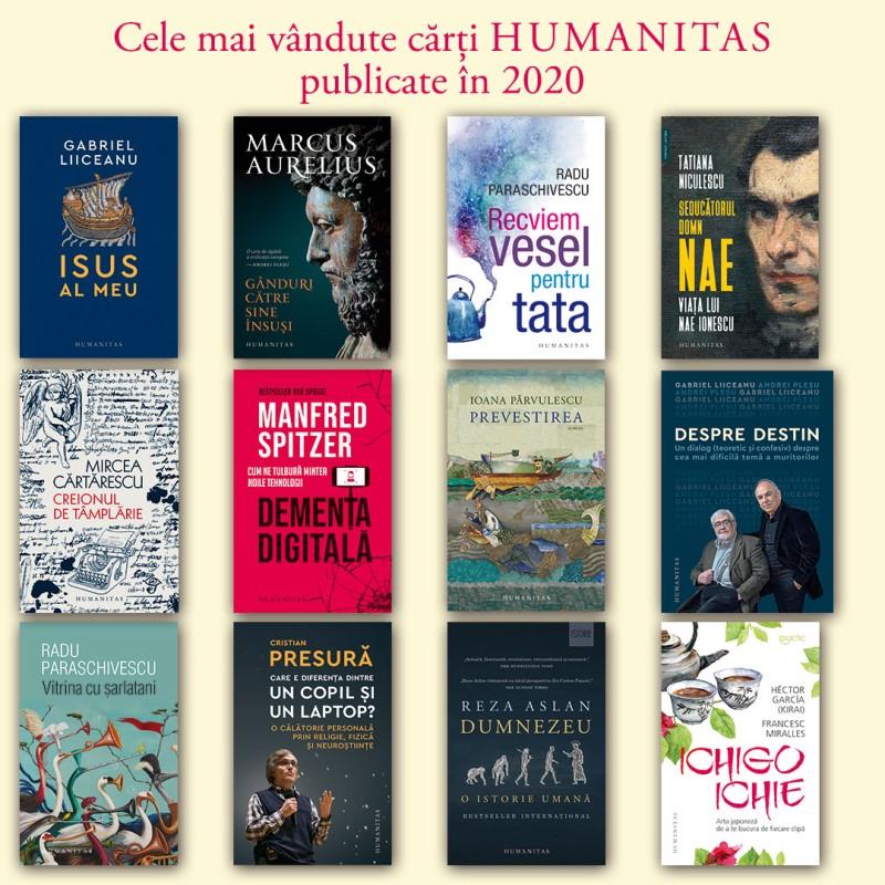 Topul Editurii Humanitas în 2020