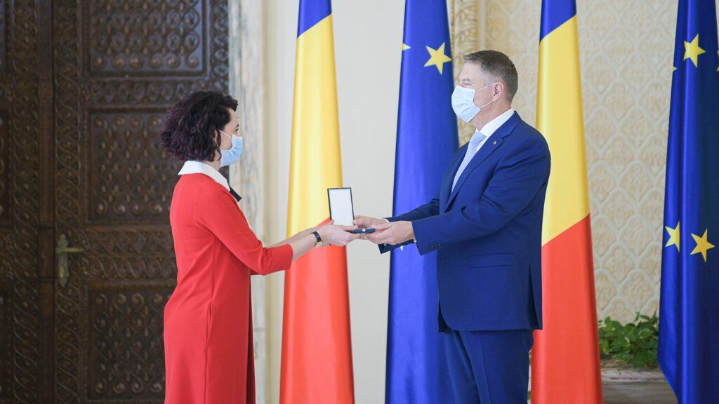 Ioana Ciocan și Klaus Iohannis, foto: facebook