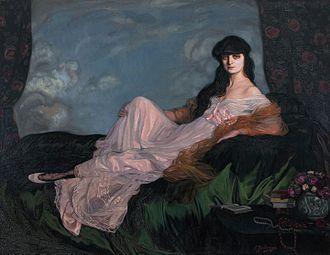 Anna de Noailles, de Ignacio Zuloaga, 1913