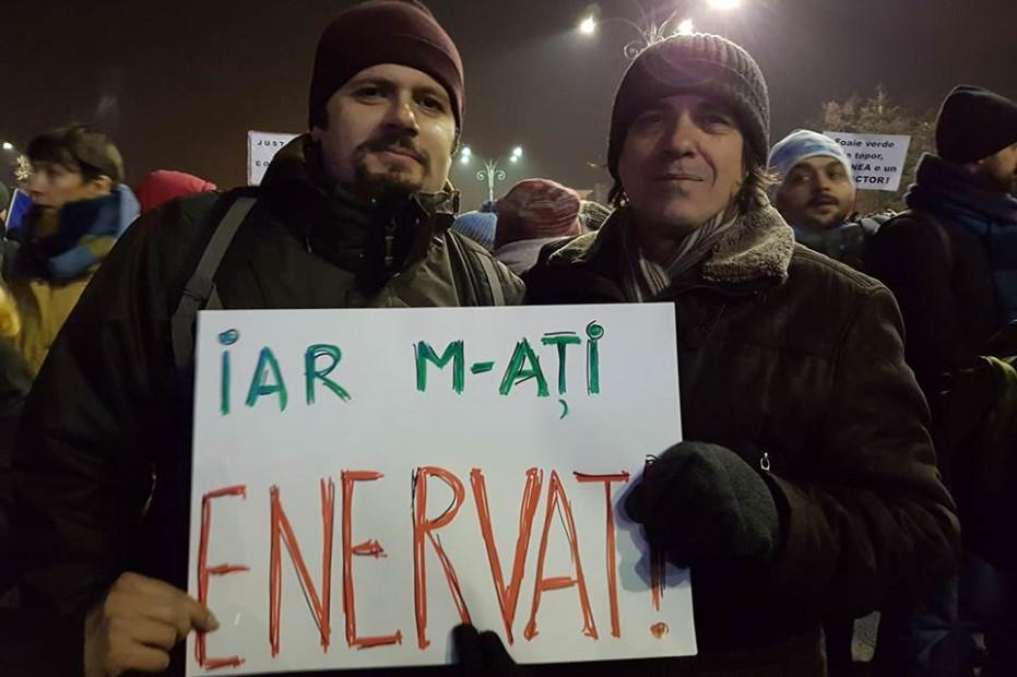 Radu Vancu și Mircea Cărtărescu