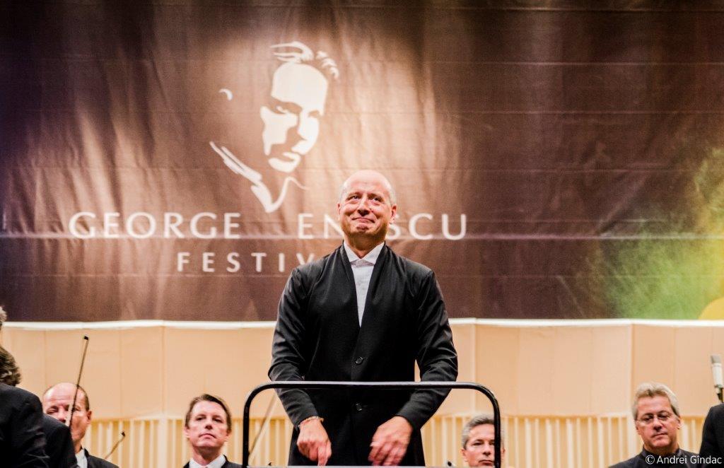 Paavo Järvi la Festivalul George Enescu în 2013/ foto: Andrei Gîndac