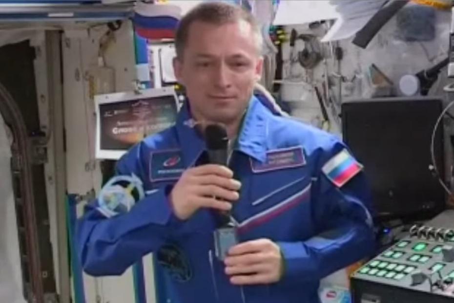 Cosmonaut la seminarul de poezie rusă