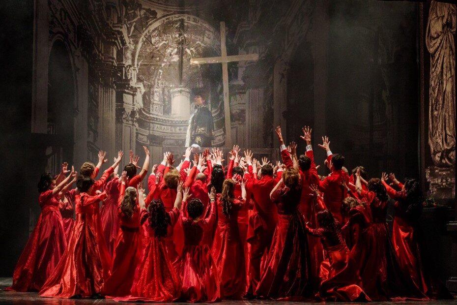 Spectacolul Tosca