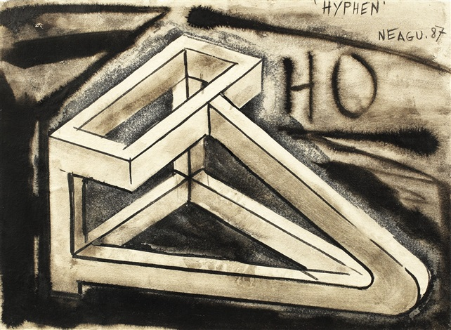 Hyphen, lucrare de Paul Neagu