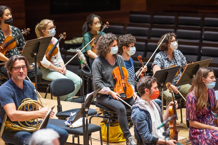 Orchestra Națională a Franței/ foto: Bogdan Iordache/ Cultura la dubă