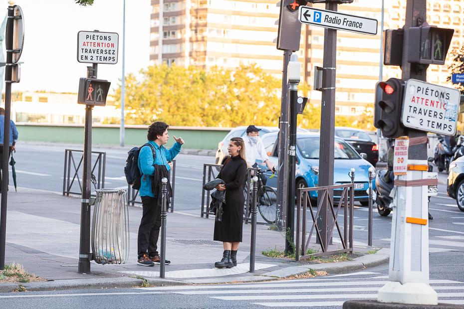 Cristian Măcelaru și Alexandra Tănăsescu la Paris/ foto: Bogdan Iordache/ Cultura la dubă
