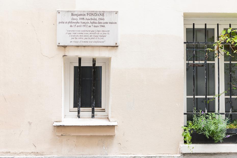 Casa lui Benjamin Fondane/ foto: Bogdan Iordache/ Cultura la dubă