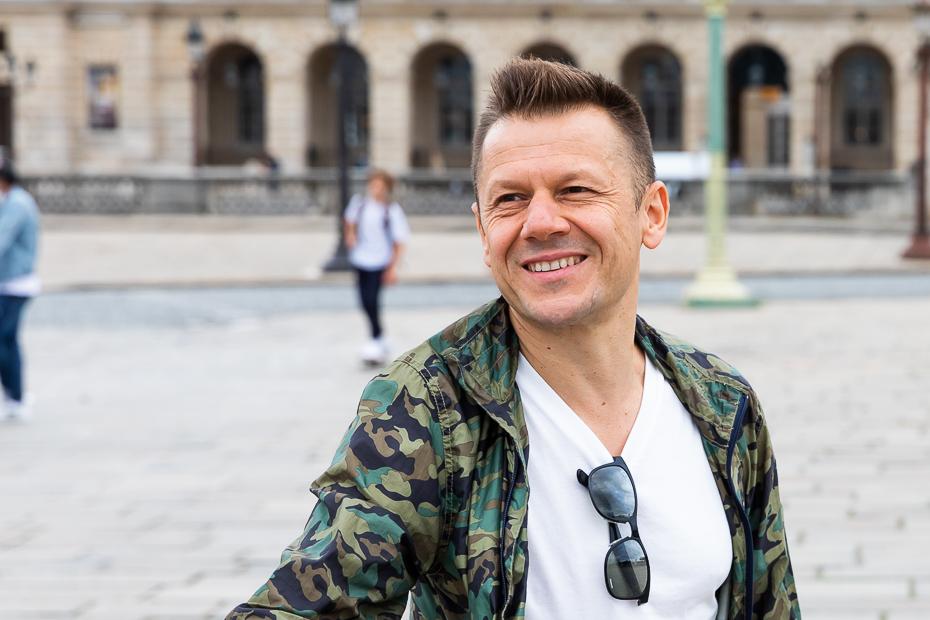 Mircea Cantor în Paris/ foto: Bogdan Iordache/ Cultura la dubă