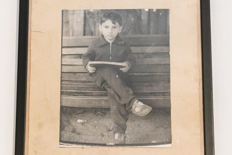 Radu Mihăileanu copil/ foto: Bogdan Iordache/ Cultura la dubă