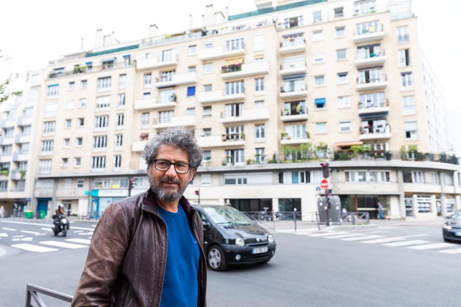 Radu Mihăileanu în Paris/ foto: Bogdan Iordache/ Cultura la dubă