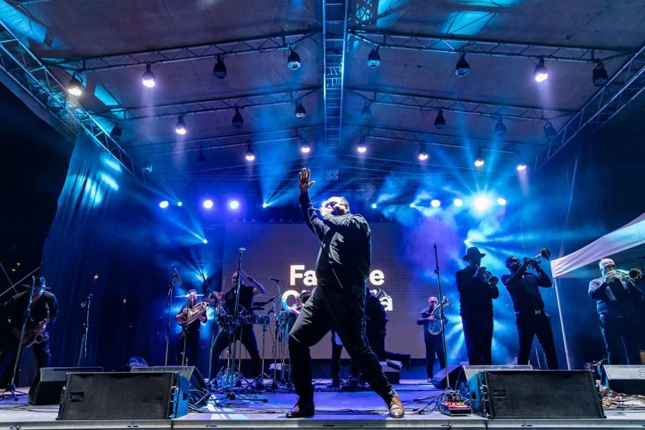 Fanfara Ciocârlia la Jazz in the Park 2021/ foto: Călin Ilea