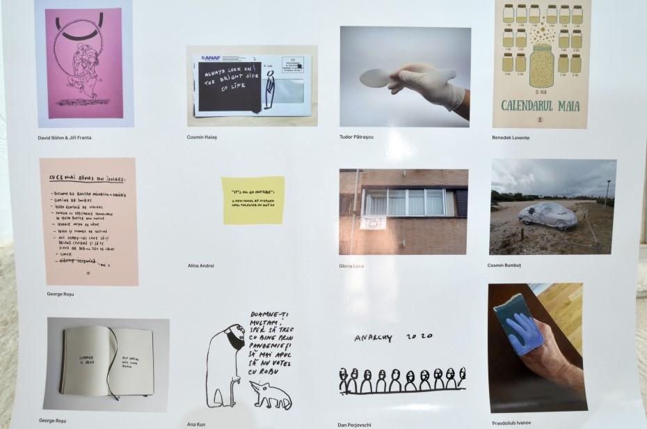 Expoziția Jurnal de Virus/ foto: Gloria Luca